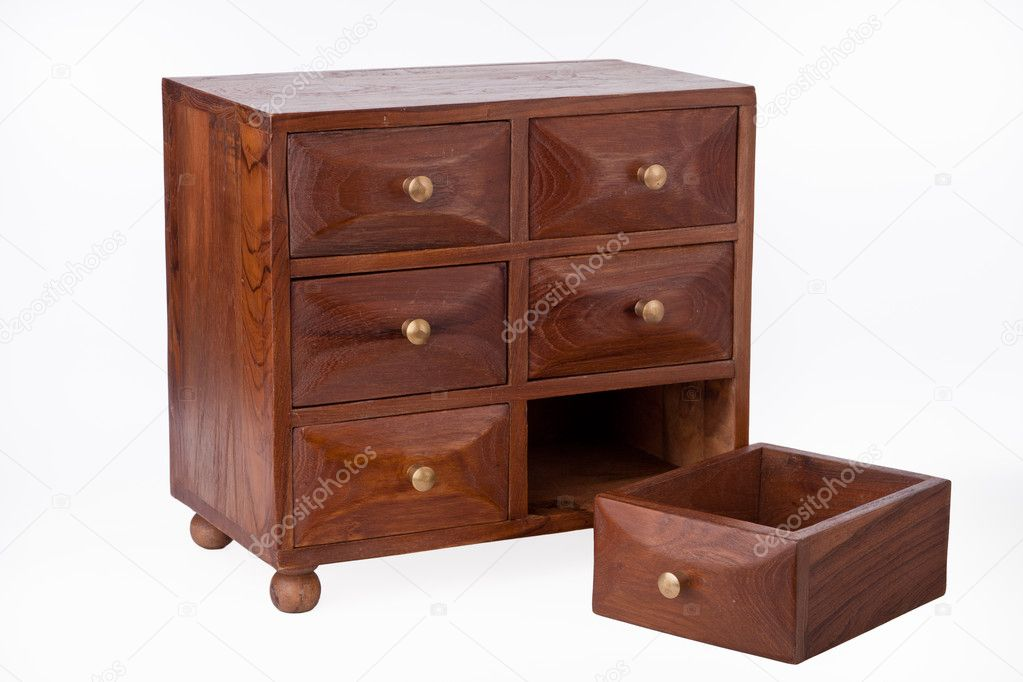 Wooden Chest Of Drawers: Stock Photo © EStruk #5380426