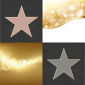 Fame Stars — Stock Vector