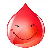 Blood Drop — Stock Vector