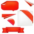 Red Set — Stock Vector #6279489