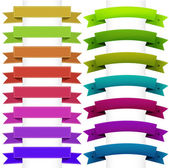Ribbons Collection — Stock Vector