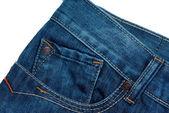 Primer plano de blue jeans — Foto de Stock