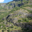 Stock Photo: Mountainside in Norway in spring