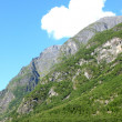 Mountainside in Norway in the spring — Stock Photo