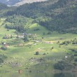 Wonderful fjord greens of norway in spring — Stock Photo