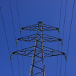 Royalty-Free Stock Photo: Electric pylon, high voltage line