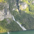 Wild streams and waterfalls of Norway in summer — Lizenzfreies Foto