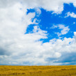Blue sky with clouds — Stock Photo #5462181