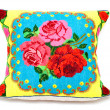 Embroidered pillow — Stock Photo #5462199