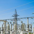 Stock Photo: Ac substation