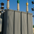 Feeder transformer - Stock Photo