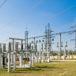 Stock Photo: Switching substation