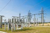 Switching substation — Stock Photo