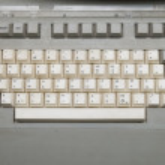 Keyboard jcuken — Stock Photo