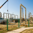Stock Photo: Building substation