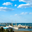 Marine port in Odessa, ukraine — Stock Photo