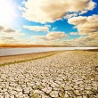 Natural disaster. arid climate — Stock Photo