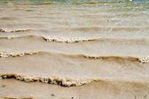 грязные волны — Стоковое фото