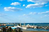 Marine port in Odessa, ukraine — Stock Photo