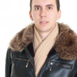 Man dressed for winter — Stock Photo #5582501