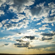 Dramatic lighted clouds — Stock Photo #5582643