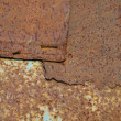 Brown rusty surface - Stock Photo