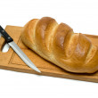 Royalty-Free Stock Photo: Bread with knife