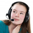 Girl with headphones — Stock Photo #5582711