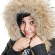 Girl dressed for winter — Stock Photo