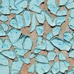 Blue cracked surface — Stock Photo #5583150