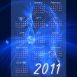 Calendar 2011 - Foto Stock