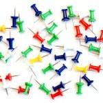 Multicolor paper clips — Stock Photo #5587113
