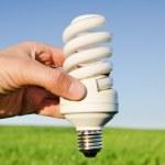 Energy saving lamp — Stock Photo