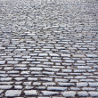 Cobbled road — Stock Photo