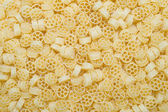 Texture of raw pasta — Stockfoto