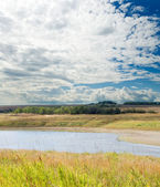 Paisaje nublado — Foto de Stock
