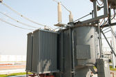 High voltage transformer — Stockfoto