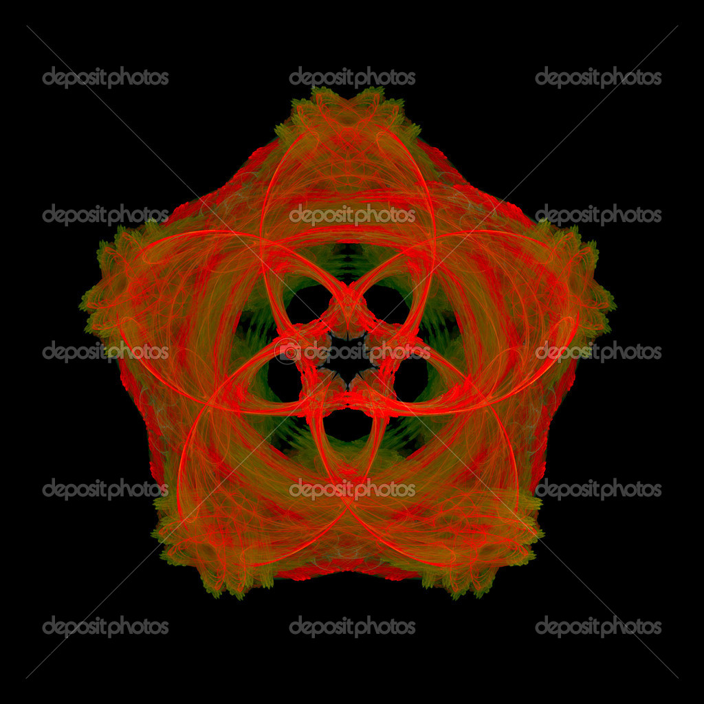 Good abstract figure to background. fractal rendered — Stock Photo #6067264
