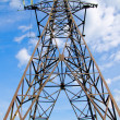 Stock Photo: High-voltage tower