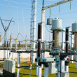 High-voltage substation — Stock Photo #6132209