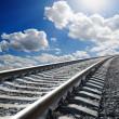 Railway to horizon — Stock Photo #6133164
