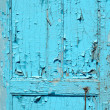 Old blue door — Stock Photo