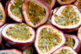 Passionfruit close up — Stock Photo