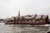 Thailand, Bangkok, the Chao Praya river — Stock Photo