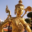 Stock Photo: Kinaree, a mythology figure in the Grand Palace