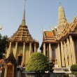 Wat Phra Kaew : The royal temple of Bangkok , Thai — Stock Photo