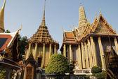 Wat Phra Kaew : The royal temple of Bangkok , Thai — Stock Photo