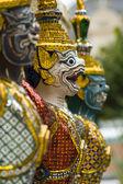 Face of Garuda sculpture — Stok fotoğraf