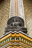 Temple buddha grand palace bangkok — Stock Photo