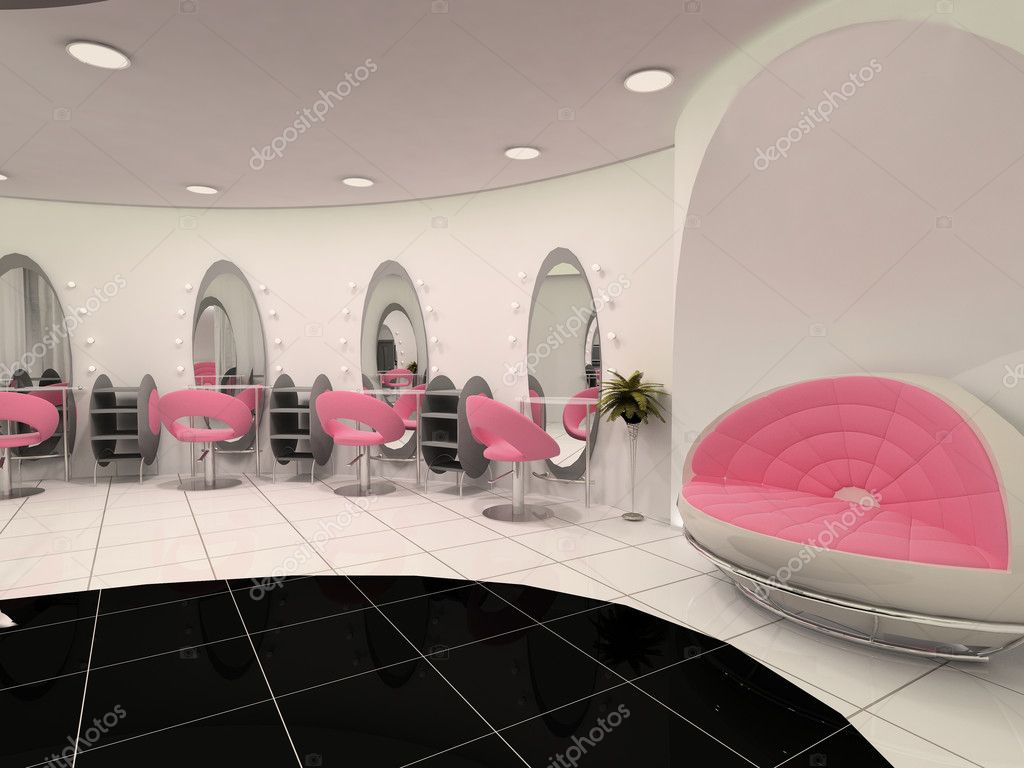 Interior of Professional beauty salon — Stock Photo © Viktoriia ...